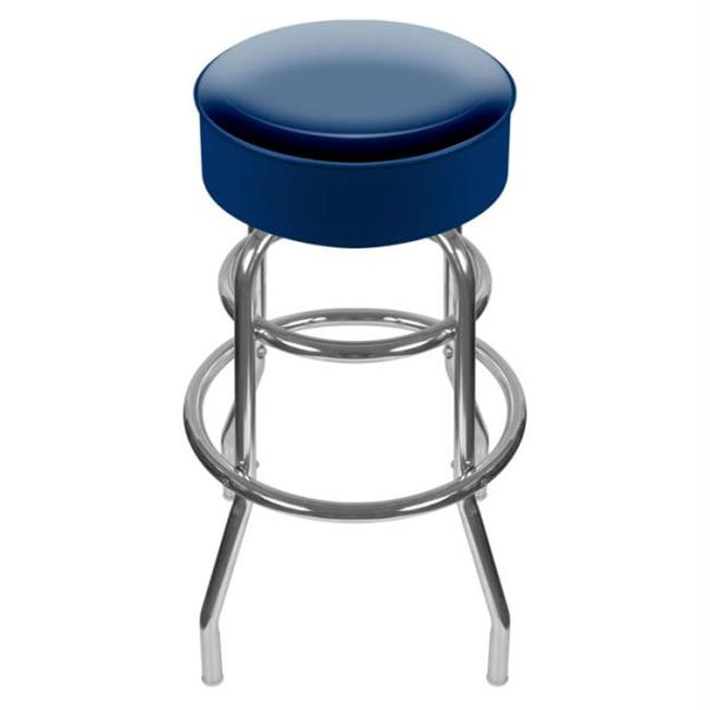 High Grade Blue Padded Bar Stool - Made In USA