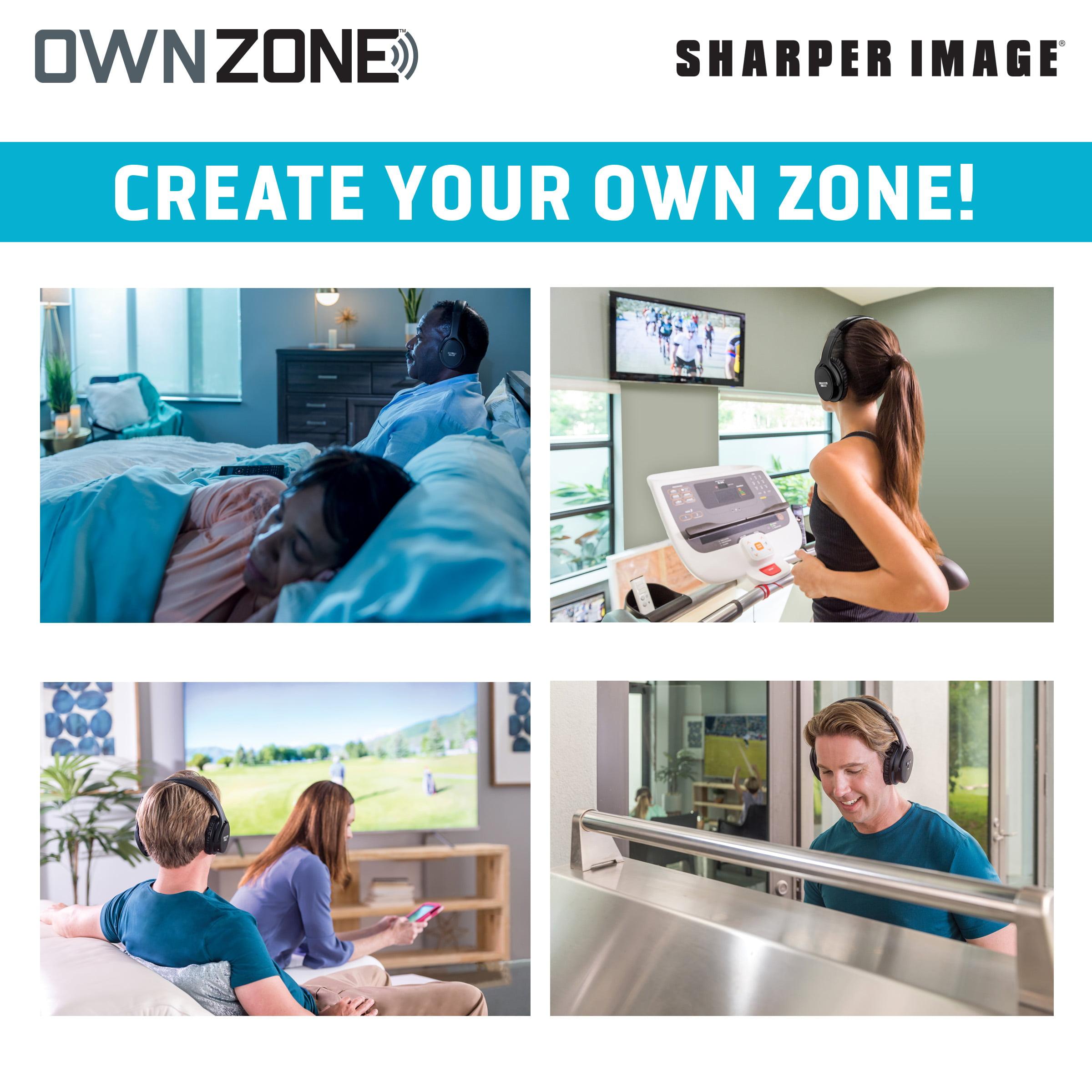 Own Zone Wireless Tv Headphones By Sharper Image Walmartcom