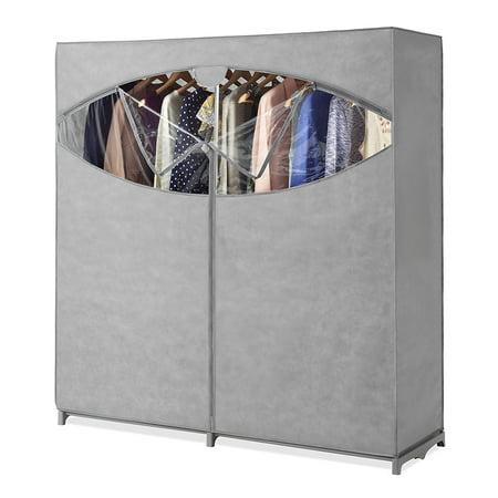 Whitmor 60 Portable Closet Storage Organizer Clothes