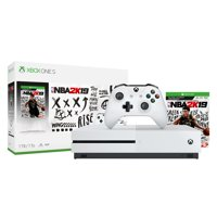 Refurbished Microsoft 234-00575 Xbox One S 1TB NBA 2K19 Bundle White
