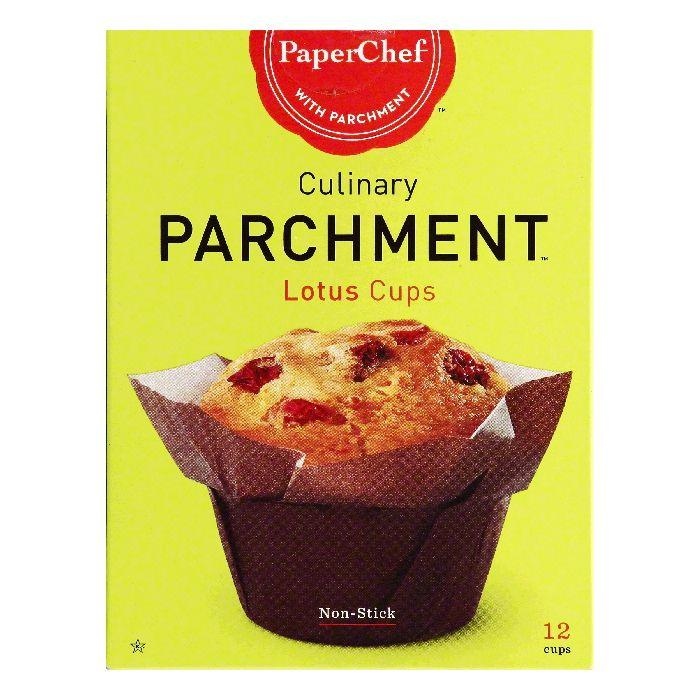 Paper Chef Lotus Cups, 12 ea (Pack of 6)