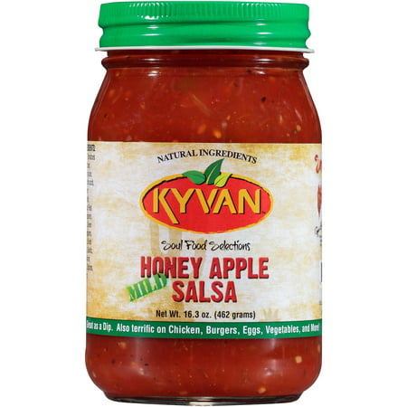 Apple Dip ((2 Pack) Kyvan Honey Apple Mild Salsa, 16.3 oz )