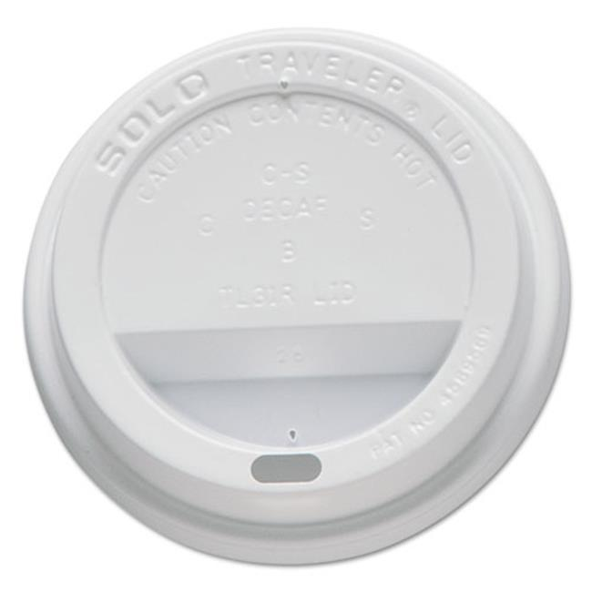 Solo Cup Company TL31R2 Traveler Drink-Thru Lids, Fits 10 oz. Cups
