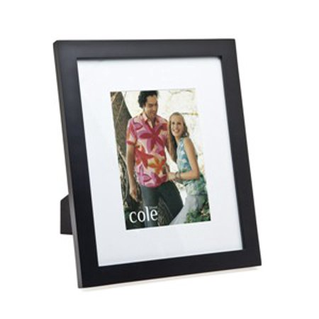 8x10/11x13 Matted Black Wooden Picture Photo Frame Standing ...