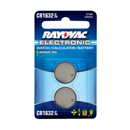 Rayovac 2pk Electronic Watch/Calculator 3V Lithium Battery