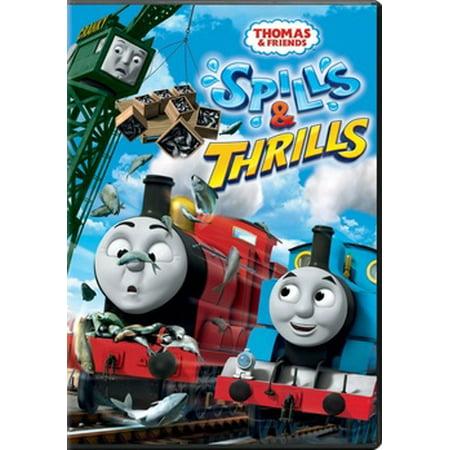thomas friends spills thrills dvd walmart com