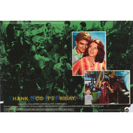 Thank God It's Friday POSTER Movie C Mini Promo (It's Friday And Halloween)