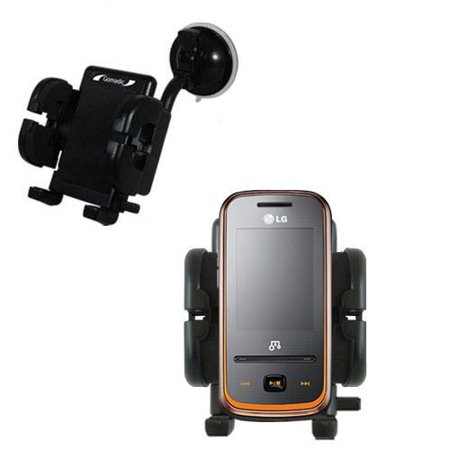 Gomadic Brand Flexible Car Auto Windshield Holder Mount Designed For The Lg Quantum   Gooseneck Suction Cup Style Cradle