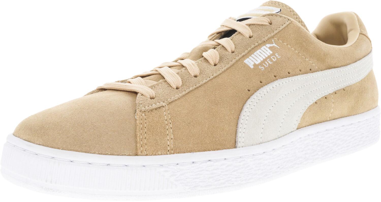 PUMA - Puma Men's Suede Classic Natural Vachetta / Plum Ankle-High Sneaker - 9M - Walmart.com