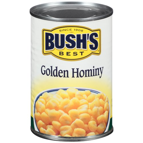 Bush's Best Golden Hominy, 15.5 oz