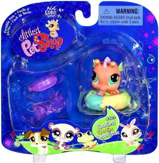 Littlest Pet Shop 2009 Assortment A Series 1 Seahorse Figure [Beach Tube]