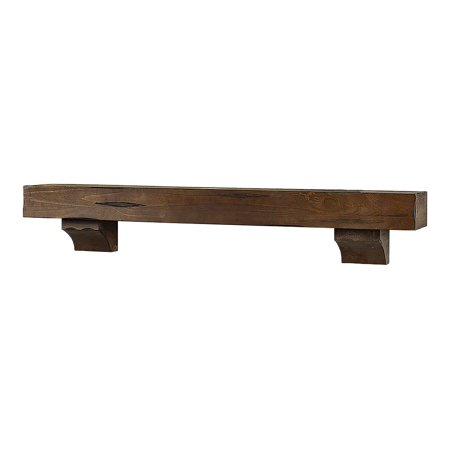 Halloween Decorating Ideas For Fireplace Mantel (Breckenridge 48 inch Wood Fireplace Mantel Shelf, Grey)