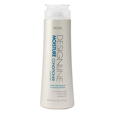 Moisture Conditioner, 10.1 oz - DESIGNLINE - Sulfate Free Formula Gently Moisturizes and Cleanses Hair to Keep Hair Color Safe and (Wen Hair Care Cucumber Aloe Cleansing Conditioner)