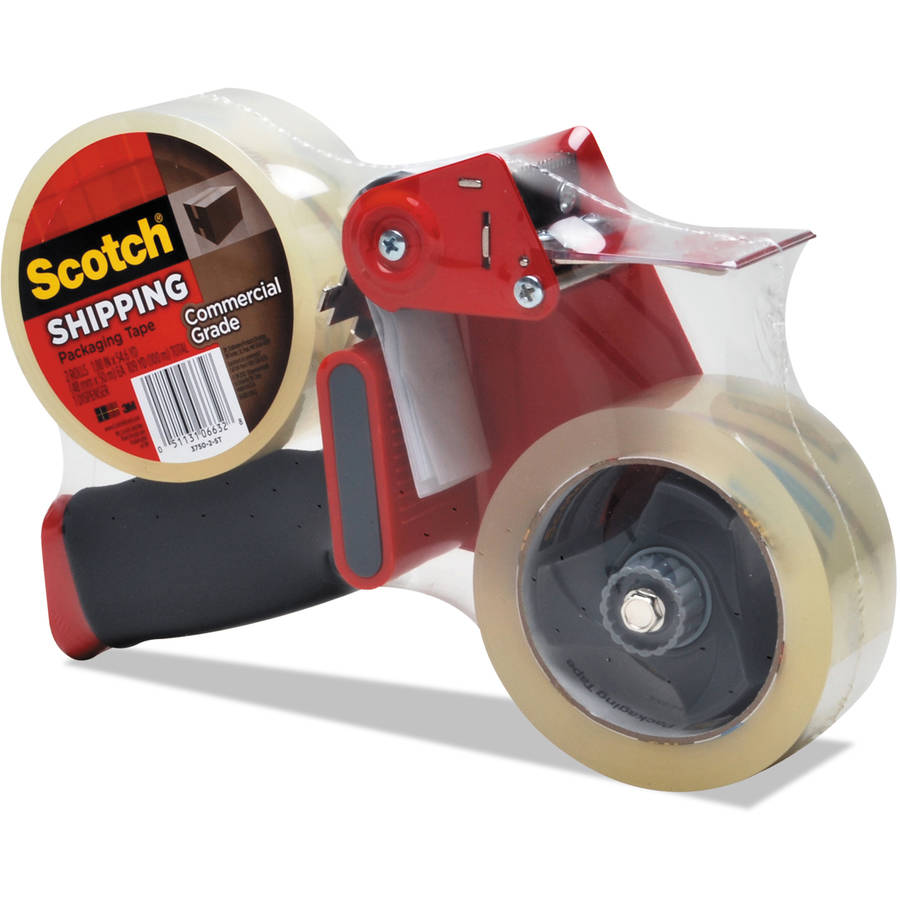 3M Scotch Premium Packaging Tape with Dispenser