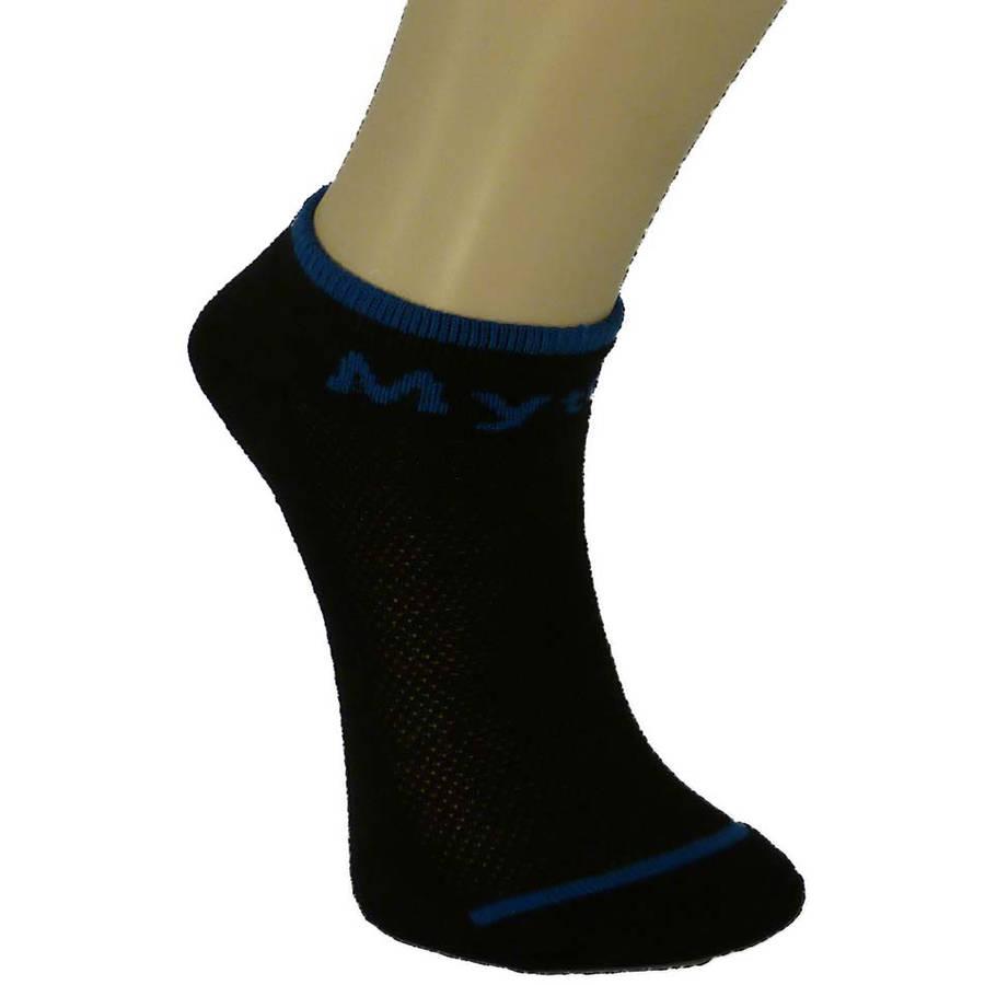 Knit Comfort Men's No Show Socks,3 Pack