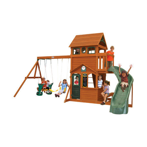 Big Backyard Ashberry Wooden Swing Set