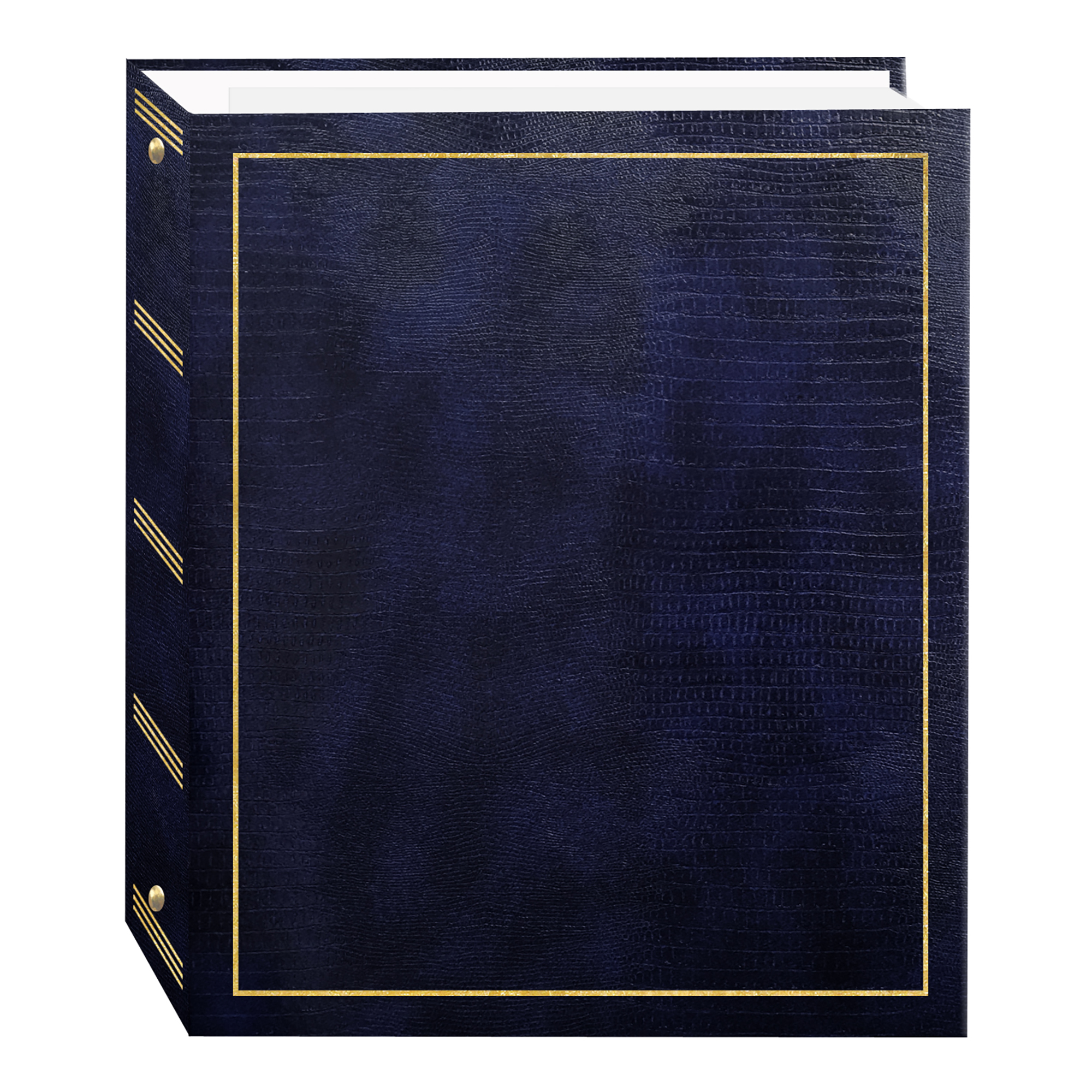 Photo Album 2.5x3.5 holds 24 wallets or gift cards Black Cover