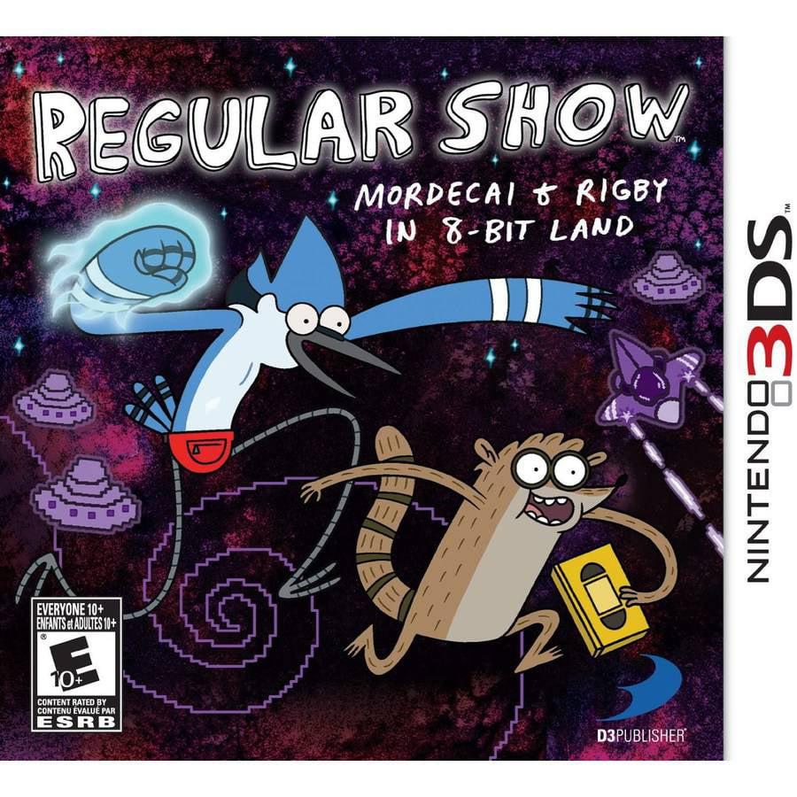 Regular Show Morde & Rigby (Nintendo 3DS) - Pre-Owned