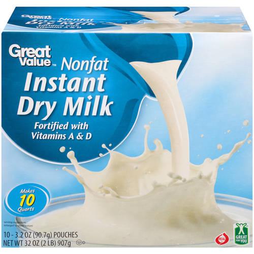 Great Value Nonfat Instant Dry Milk, 32 oz