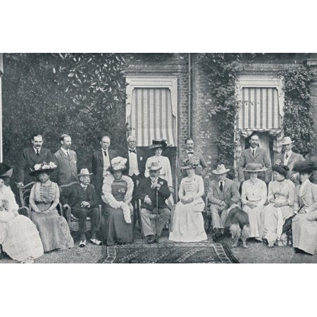The Royal house party at The Grove, Watford, Lord Clarendon's residence, in July, 1909 (1911) Print Wall Art By Frederick Downer & Sons](Party City Downers Grove)