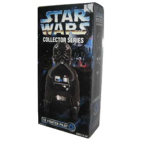 "Star Wars Tie Fighter Pilot Collector Series 12"" Revel Alliance Kenner Action Figure"