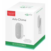 Arlo Smart Doorbell Chime - Wire-Free, Smart Home Security, Siren and Silent Mode (AC1001) - Pairs with Arlo Audio Doorbell