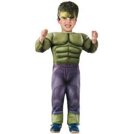 Hulk Muscle Chest Toddler Halloween Costume
