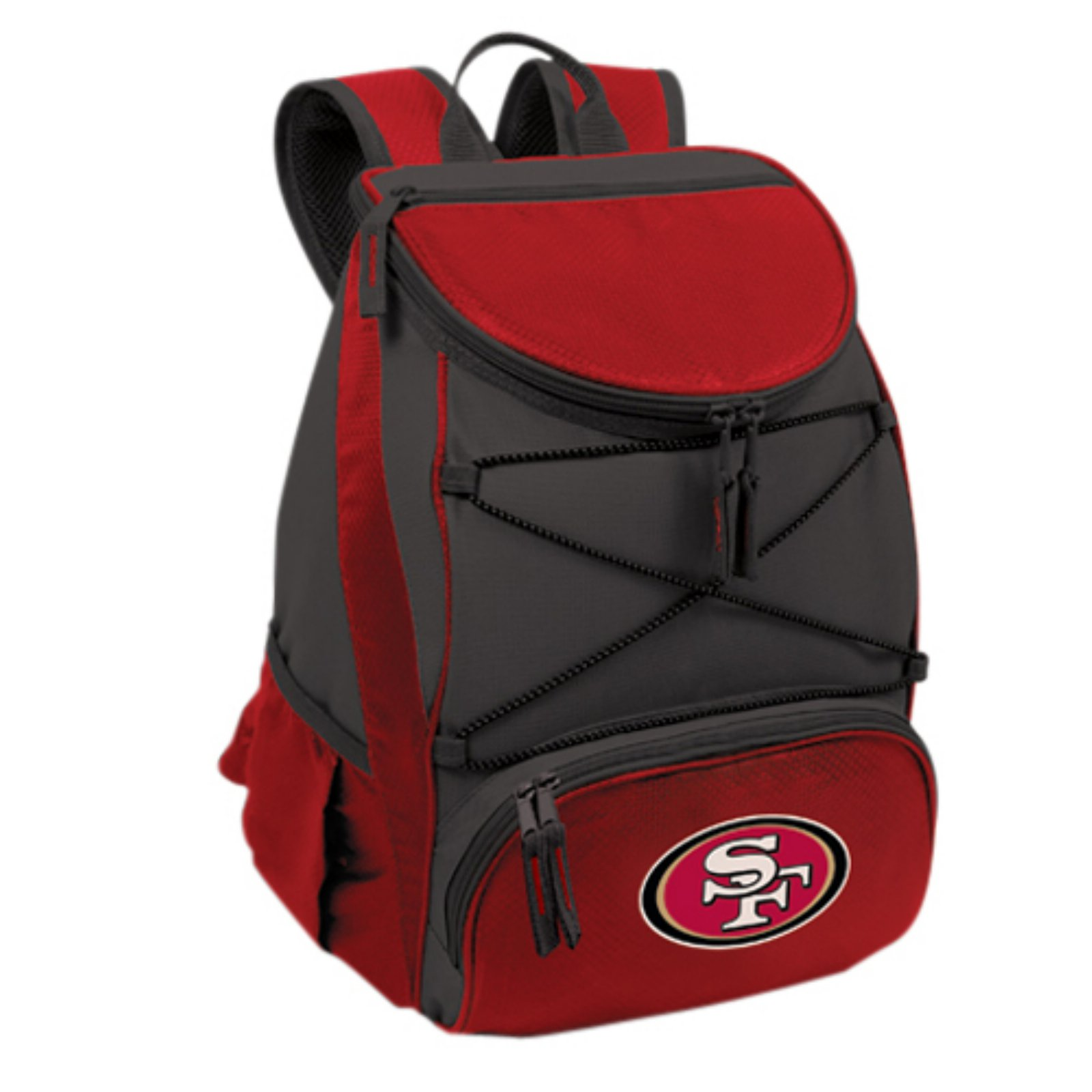 Picnic Time PTX Cooler, Red San Francisco 49ers Digital Print
