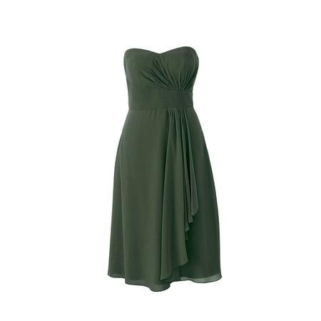 Faship Womens Elegant Strapless Sweetheart Neckline Short Formal Dress Black -