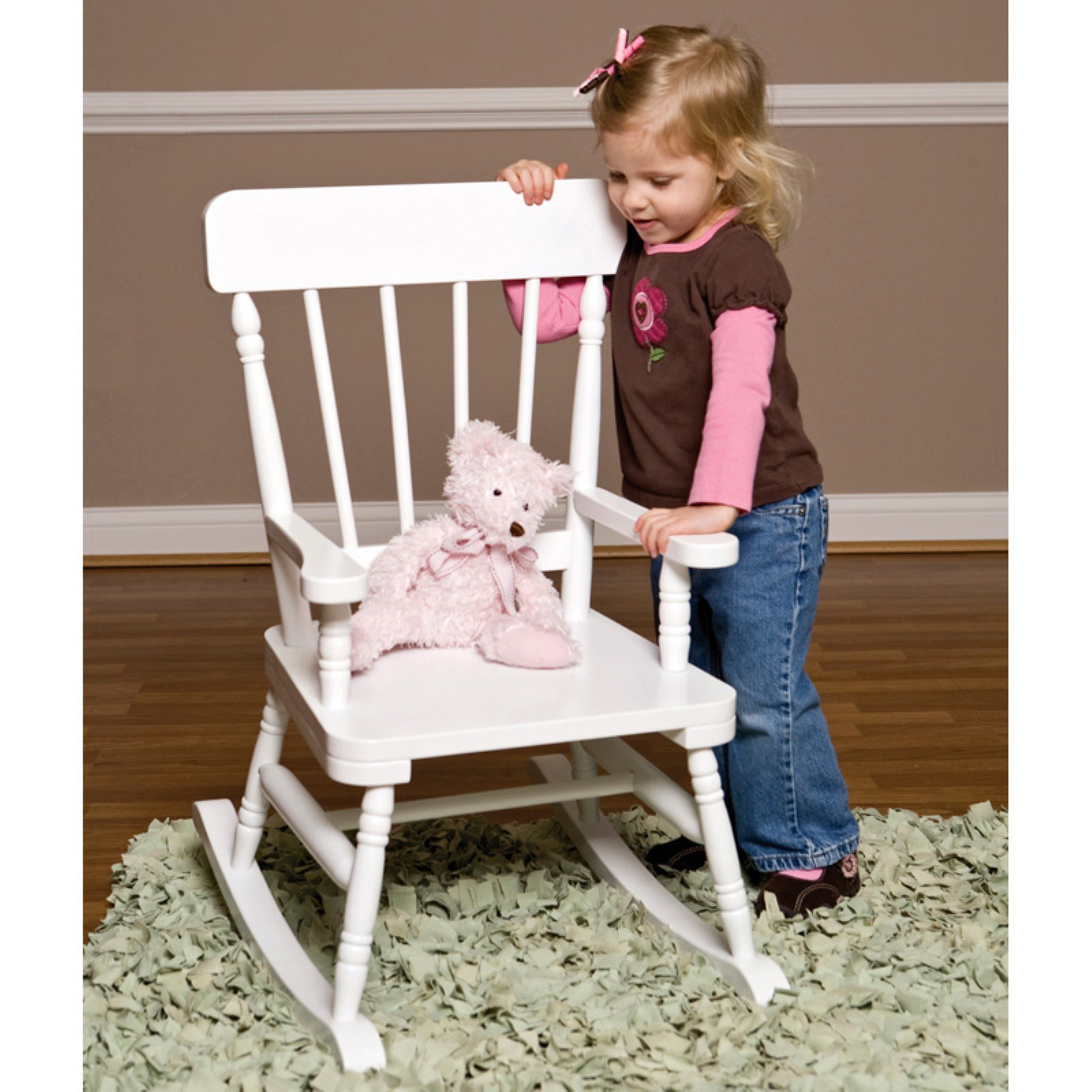 Wildkin Emerson Rocking Chair - White