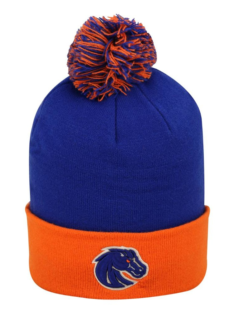 Boise State Boys Blue & Orange Broncos Beanie Winter Hat by Top of the World