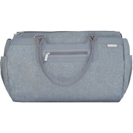 jj cole parker diaper bag gray heather. Black Bedroom Furniture Sets. Home Design Ideas