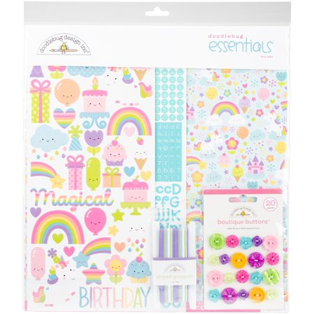 Doodlebug Essentials Page Kit 12