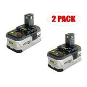 Ryobi P203 Drill Replacement 18v 2.4Ah Li-Ion Battery (2 Pack) # 130429017-2PK