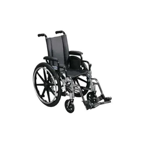 """Lightweight wheelchair viper 14"""" size, black part no. l414dda-elr (1/case)"""