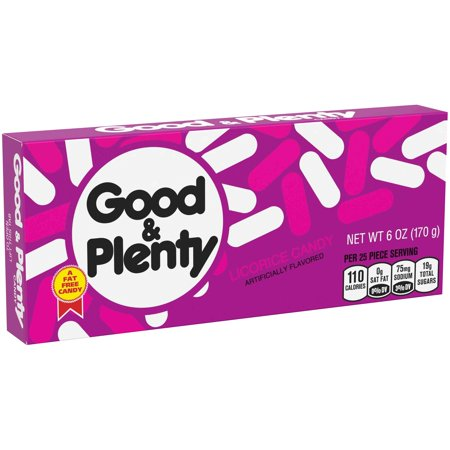 Good & Plenty Licorice Candy, 6 Oz.