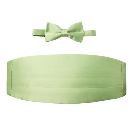 Spring Notion Men's Cummerbund and Bow Tie Set