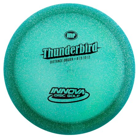 Innova Champion Metal Flake Thunderbird 170-172g Distance Driver Golf Disc [Colors may vary] -