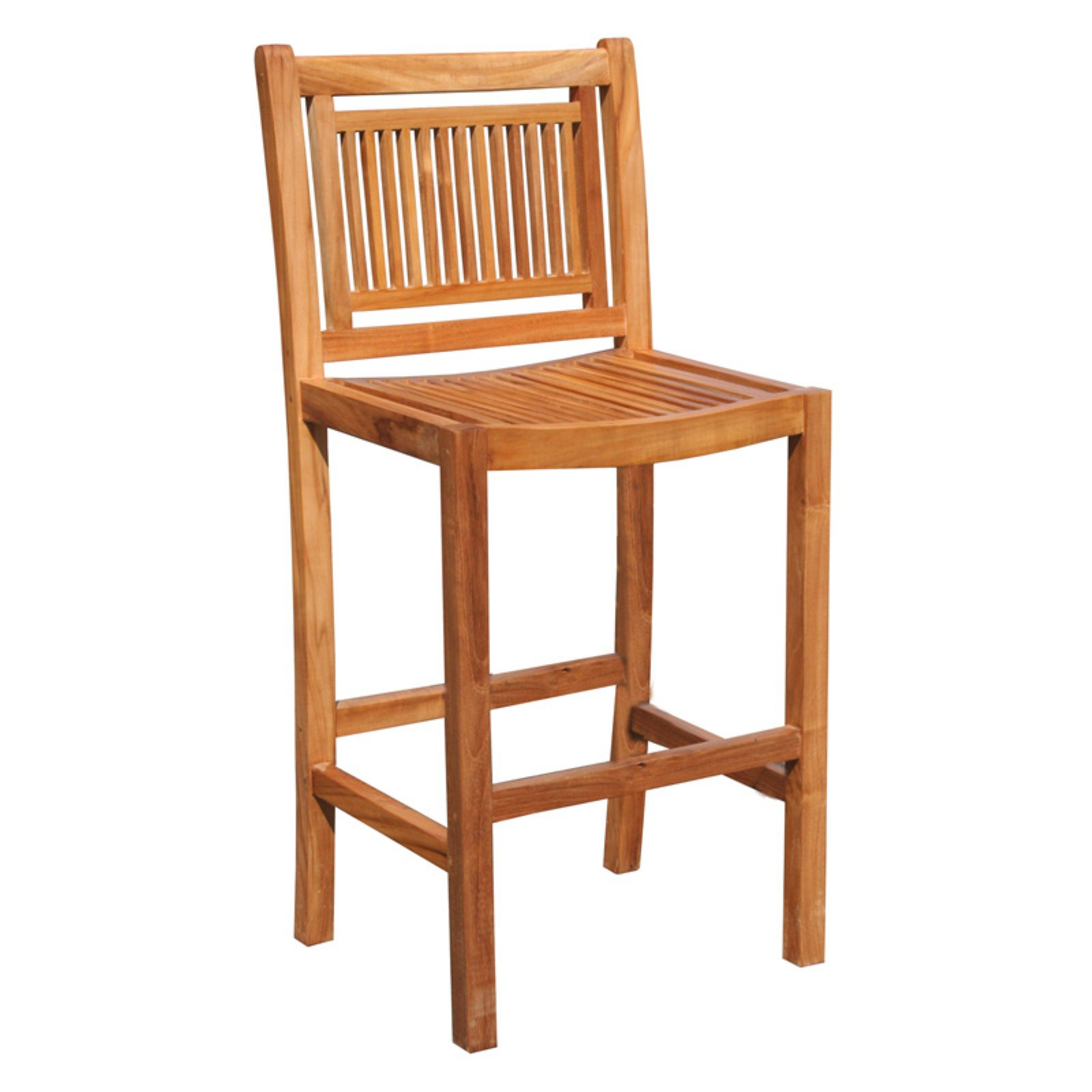 Chic Teak Maldives Teak Outdoor Barstool