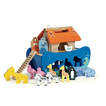 Le Toy Van Wooden Noah's Ark Shape Sorter - image 1 of 1