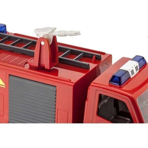 Junior Kit Fire Truck Rotating Ladder With Figure 1:20 Plastic Model Kit REVELL