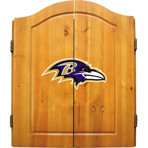 Imperial International NFL Dart Cabinet, Baltimore Ravens