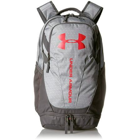 naprawdę wygodne złapać szalona cena Under Armour Hustle 3.0 Backpack, White/Red, One Size - 1294720-101
