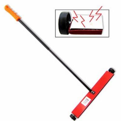 """16"""" Wide Magnet Magnetic Sweeper Metal Steel Pick Up Broom Tool Sweep by Ridgerock Tools Inc"""