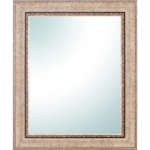"28"" x 34"" Champagne Ornate Vanity Mirror"