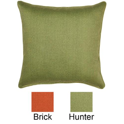 Fox Hill Trading Husk Texture Hunter 17-inch Outdoor Pillows