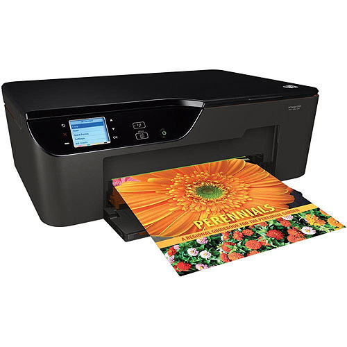 HP Deskjet 3522 Wireless e-All-in-One Inkjet Printer - up to 8 ppm Black, 7.5 ppm Color, Print, Copy, Scan, Print from M