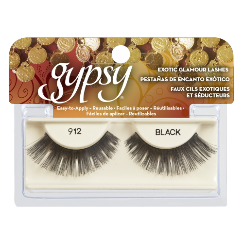 GYPSY LASHES False Eyelashes - 912 Black
