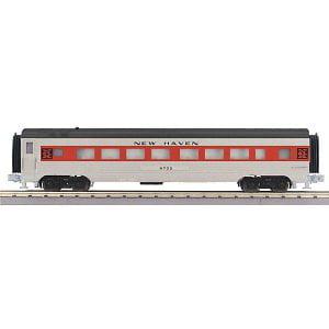 MTH 30-67799 O-27 60 Streamline Coach, NH Multi-Colored