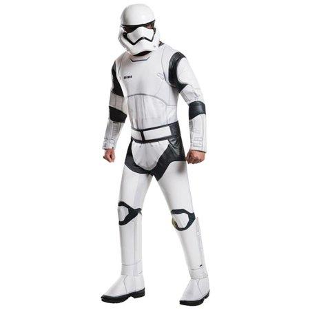 Morris Costumes RU810672 Stormtrooper Deluxe Standard Adult Costume](Deluxe Stormtrooper)